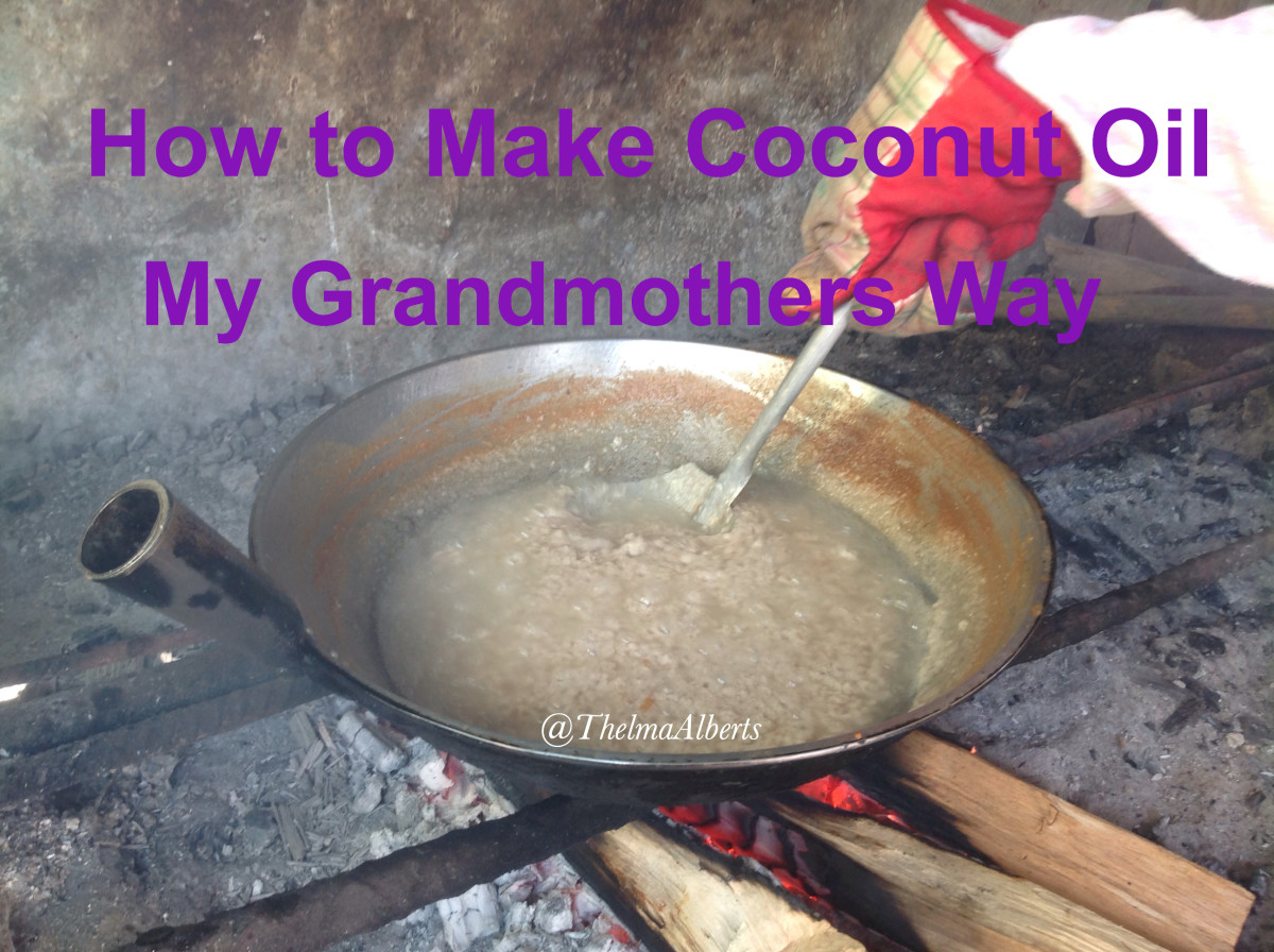 My Grandmother's Recipe for Making Coconut Oil