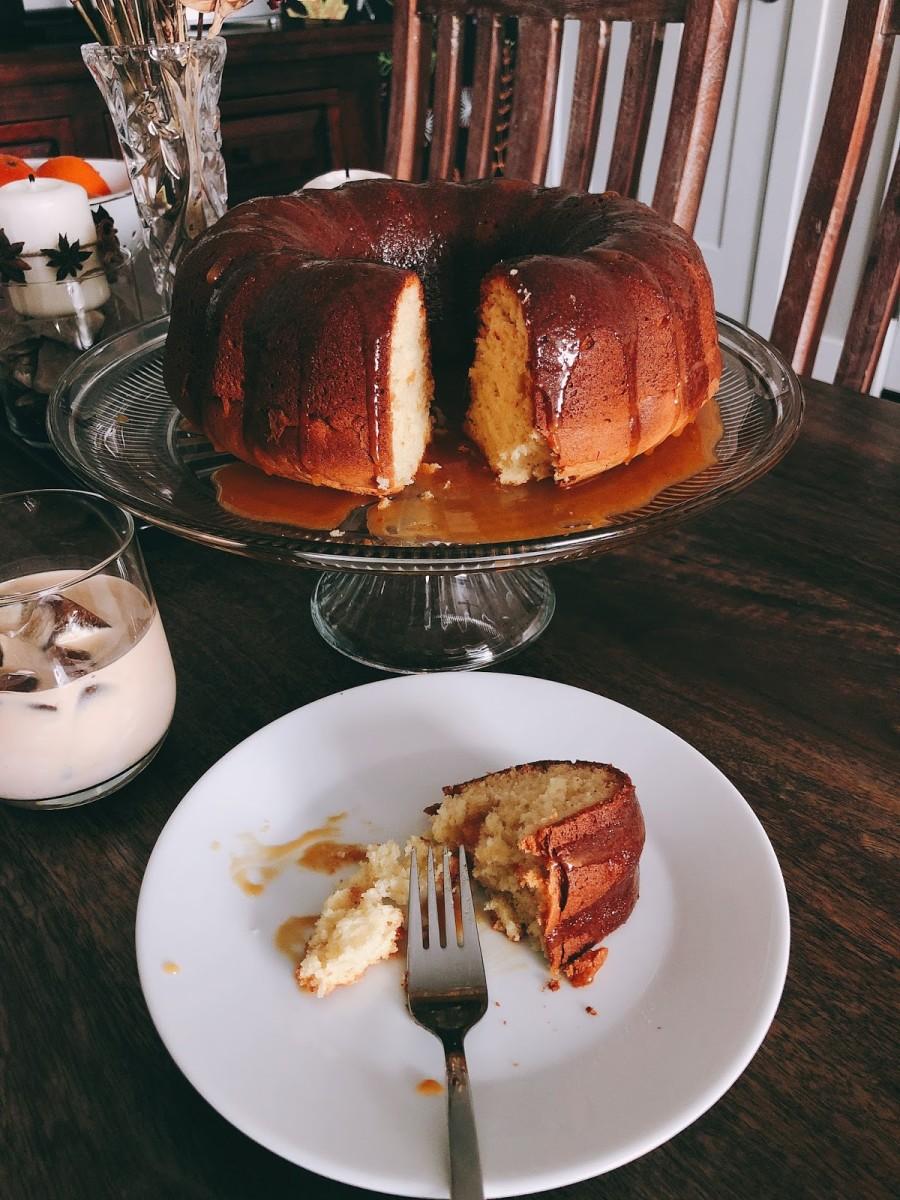 Yummy bundt cake.