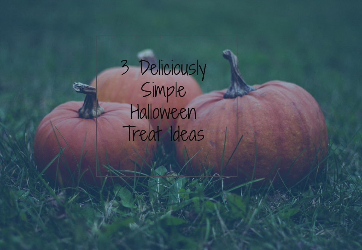 3 Deliciously Simple Halloween Treat Ideas