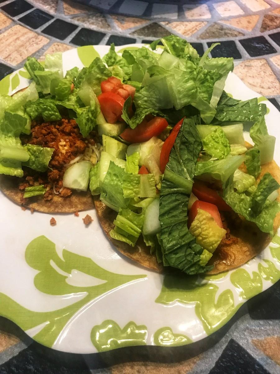 Healthy, Easy Vegetarian Tacos