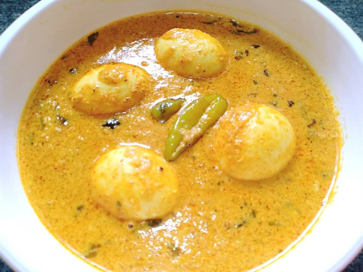 Egg Korma Recipe (Indian Egg Curry)