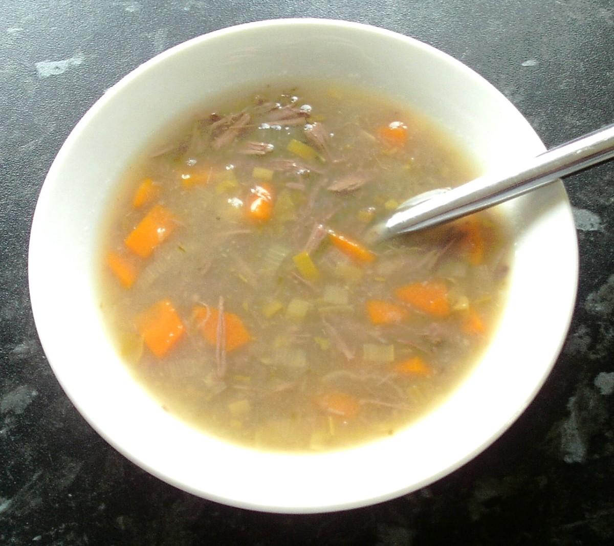 Hare Soup Recipe