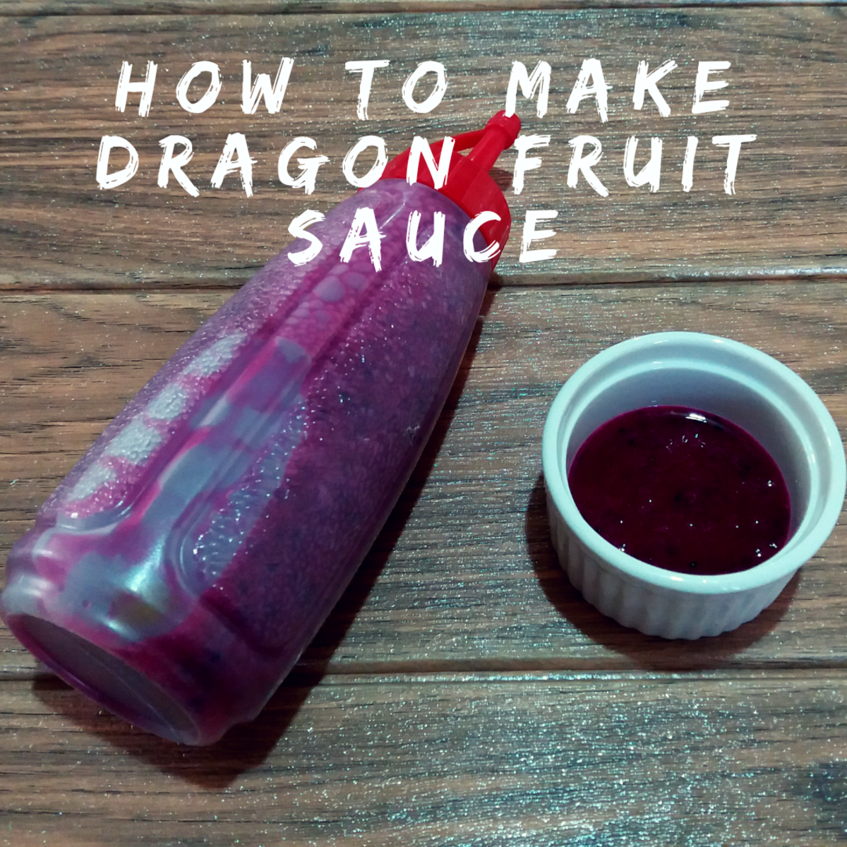 Learn how to make dragon fruit sauce at home