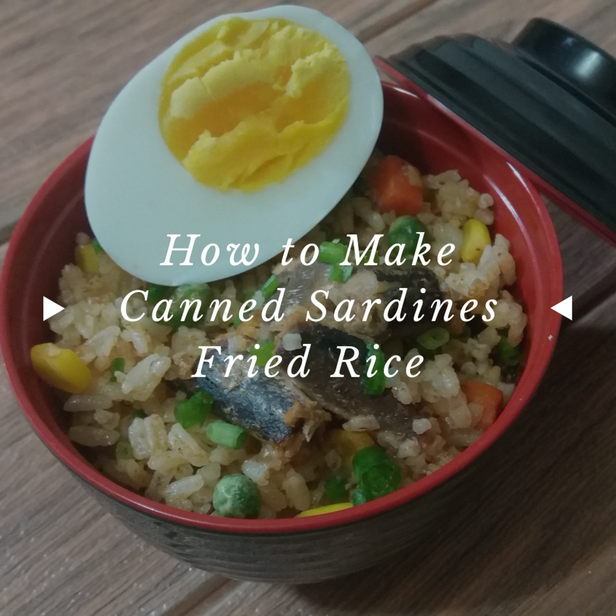 how to make canned sardines fried rice