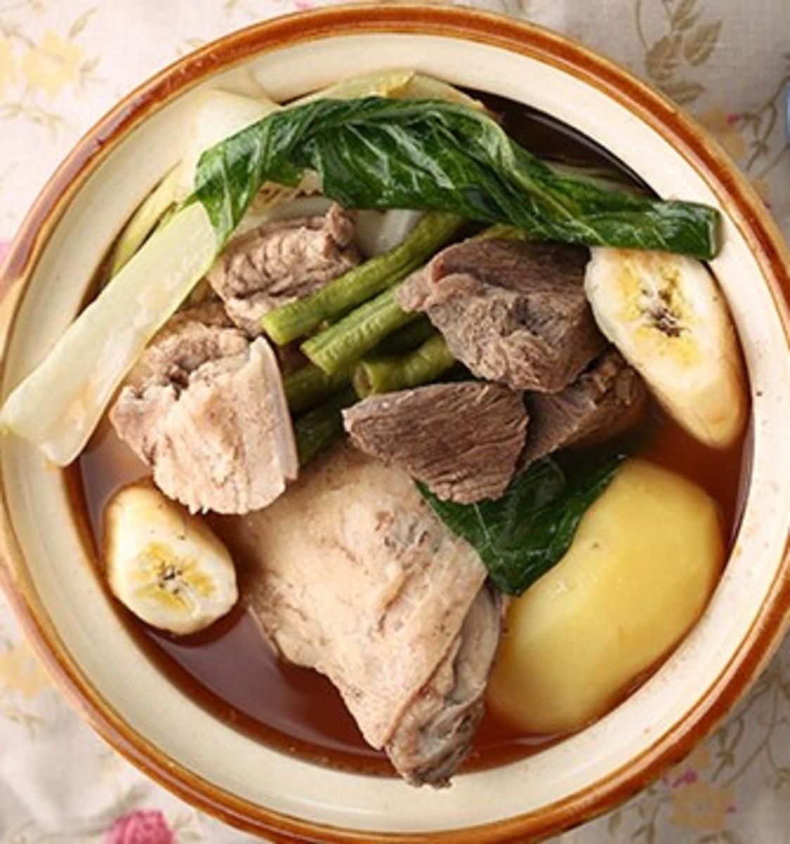 Pocherong Baka (Filipino-Style Beef Pochero)