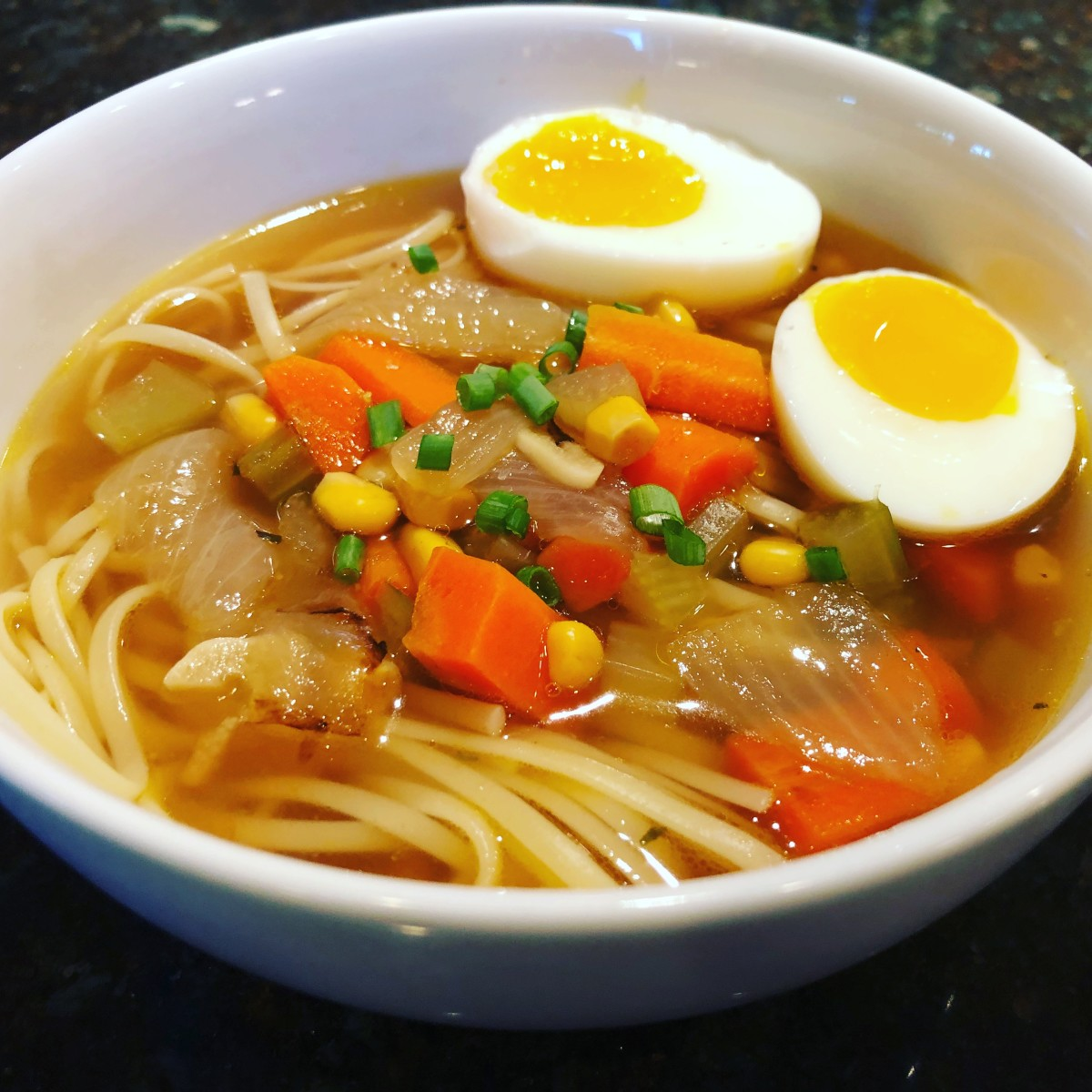 Delicious and Healthy Noodle Soup Kids Love