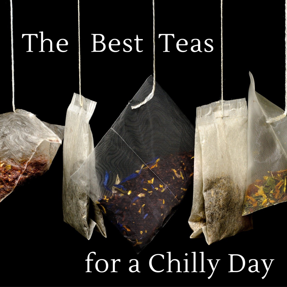This article will break down my five favorite teas to drink when it's cold outside and I'm in need of warmth.