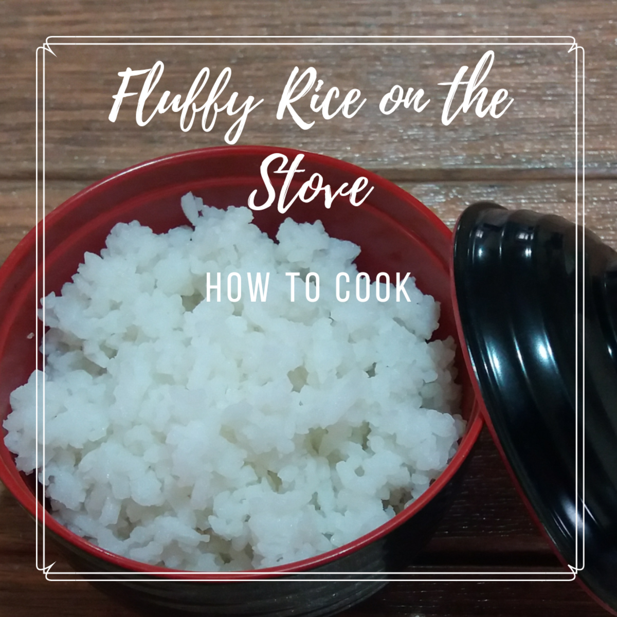 how to cook fluffy rice on the stove
