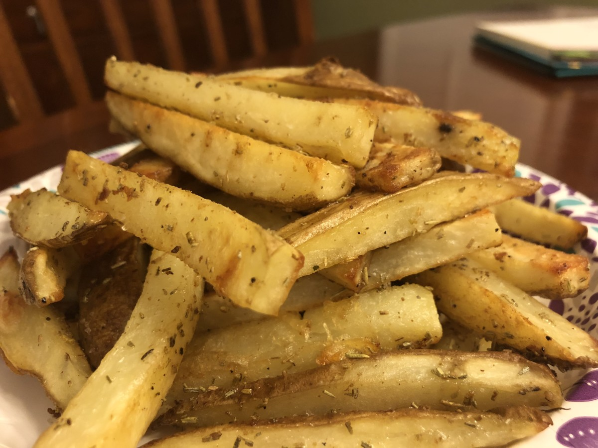 Roasted White Potato Fries Recipe