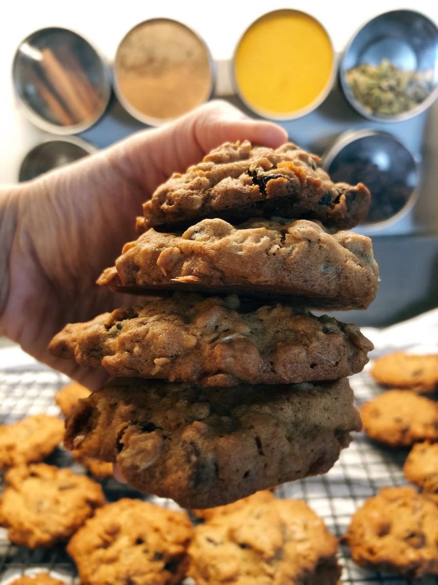 Easy Homemade Oatmeal Cookies Recipe