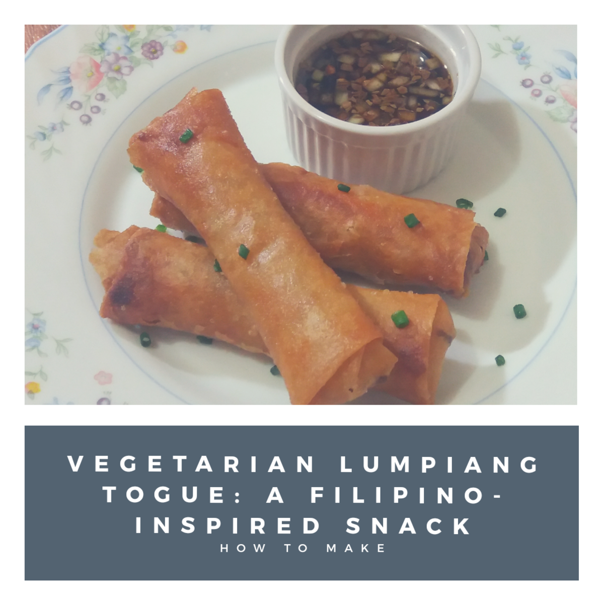 Discover how to make vegetarian lumpiang togue, a Filipino-inspired snack.