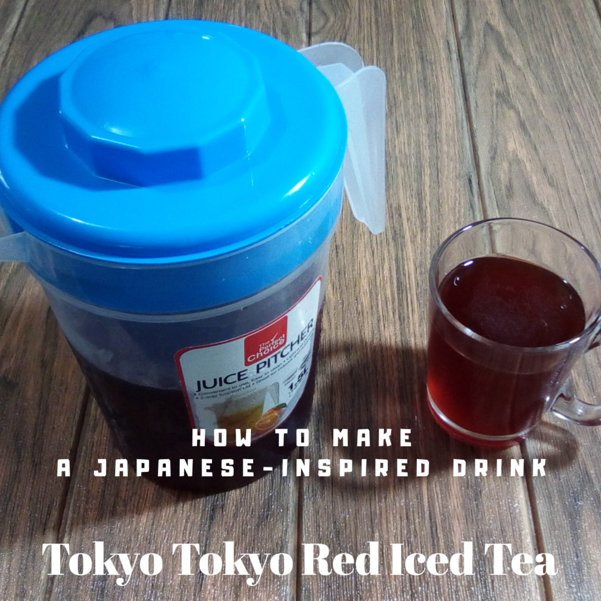 Learn how to make copycat Tokyo Tokyo red iced tea!