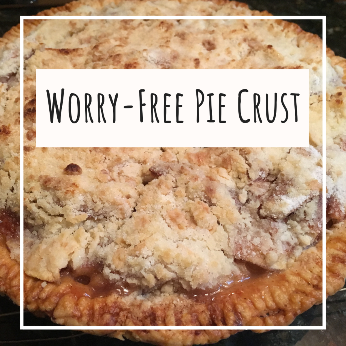 Easy Homemade Pie Crust Recipe and Cracked Pie Crust Quick Fix