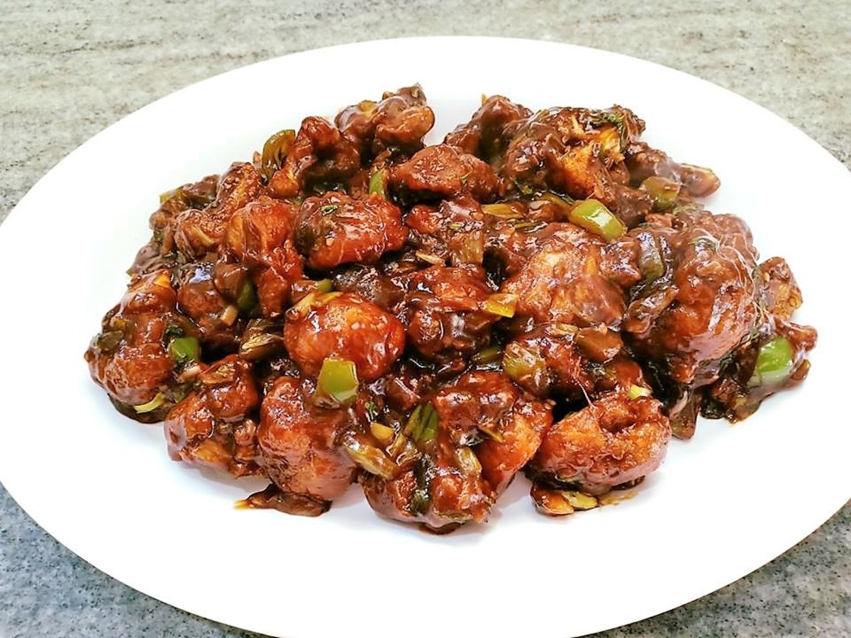 Quick and Easy Crispy Gobi (Cauliflower) Manchurian Recipe