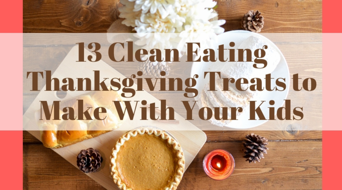 This collection of 13 clean-eating Thanksgiving treats to make with your kids is packed full of yummy, healthy treats that you and your kids will enjoy creating together.
