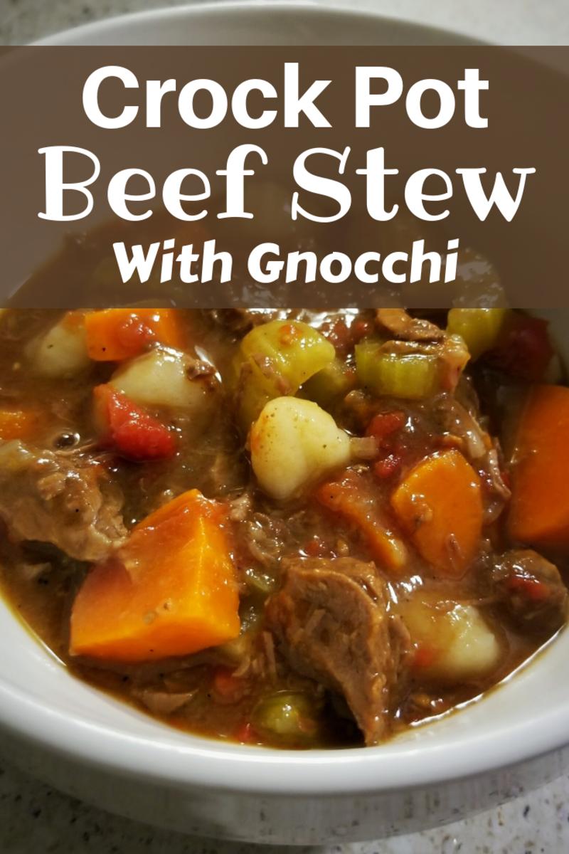 Crock-Pot Beef Stew With Gnocchi