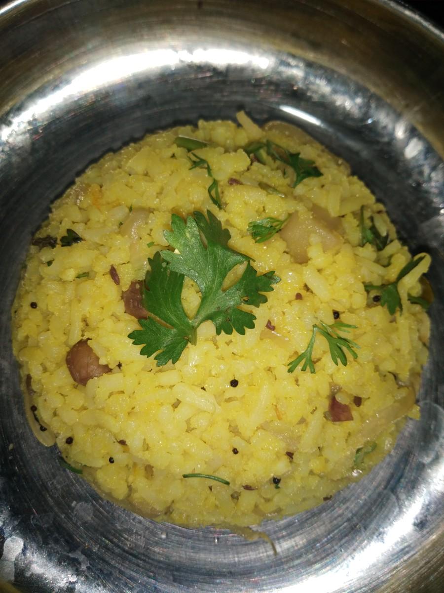 Simple and Delicious Kanda Poha Recipe