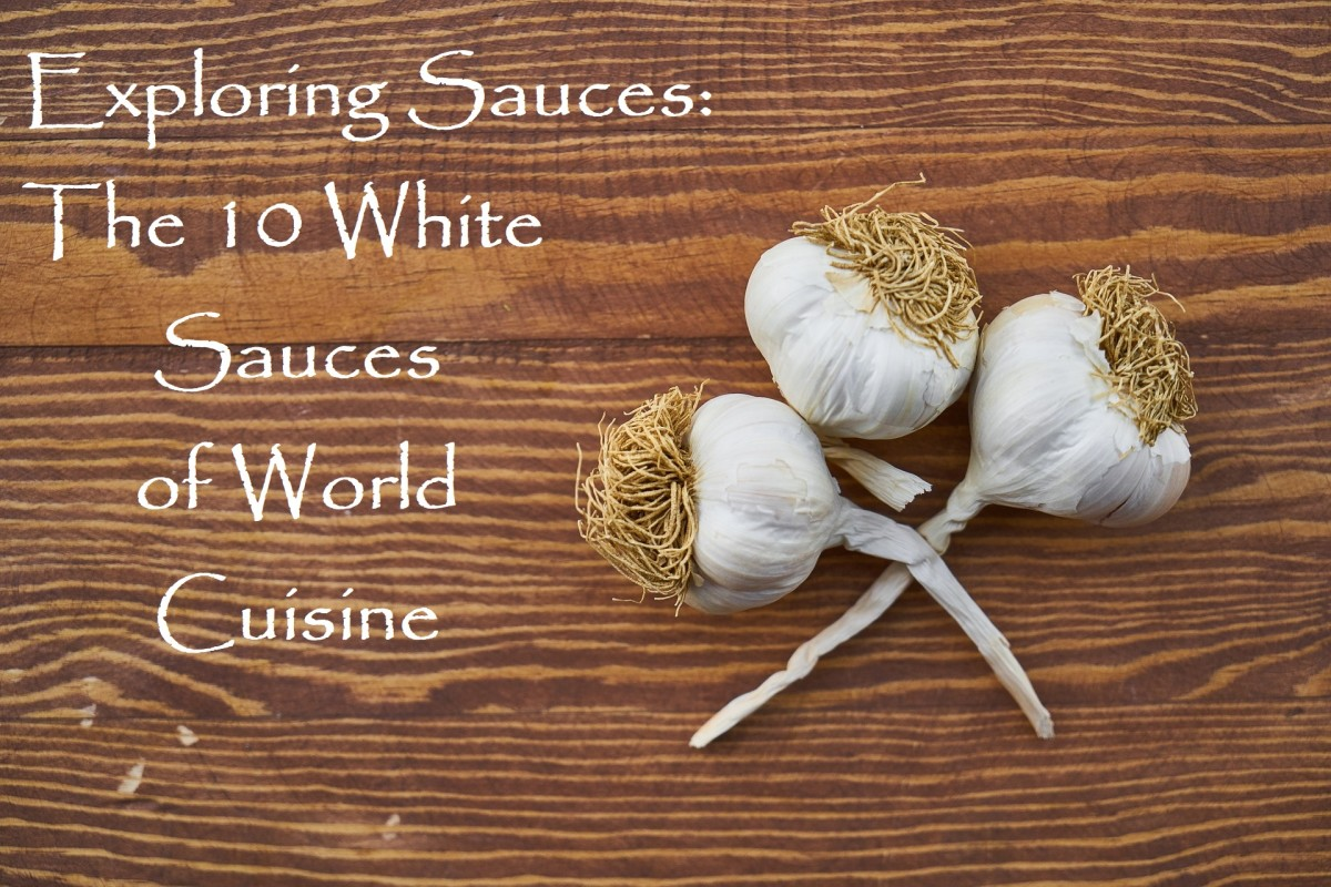 There are so many white sauces out there from so many different locales. Let's explore the origins of the world's palest condiments.