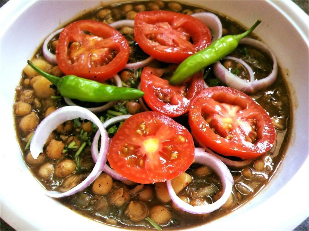 Chole masala is a beloved Punjabi dish.