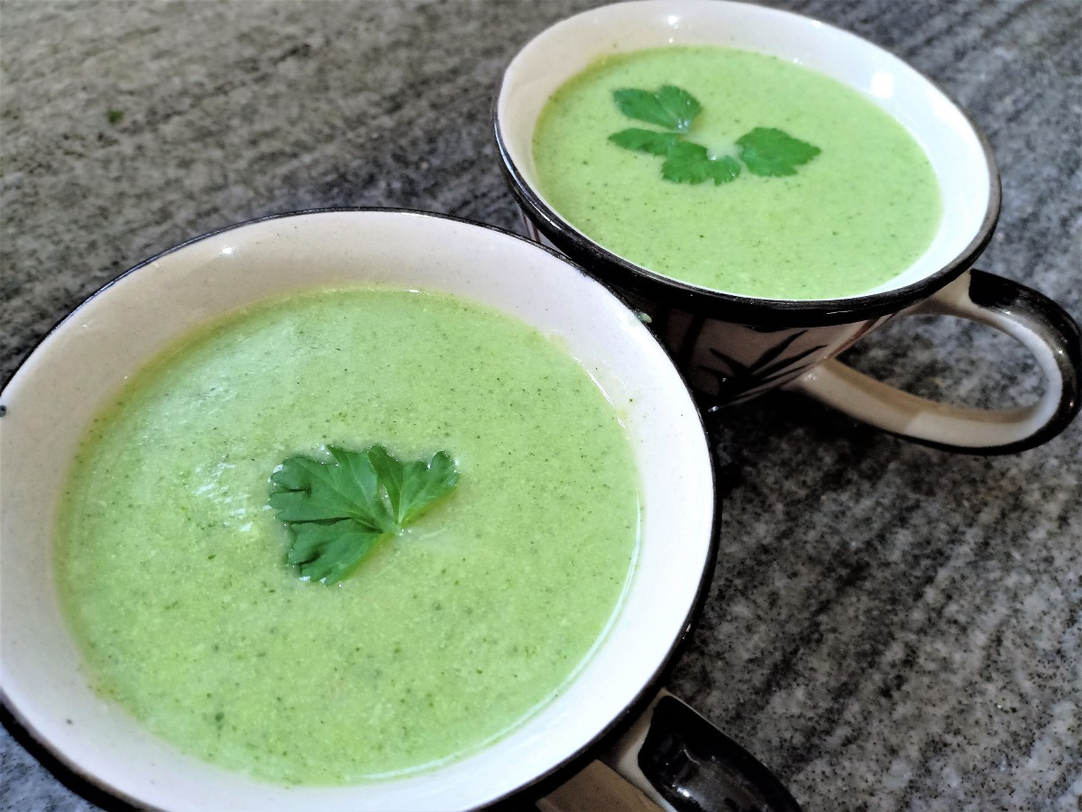 How to Make Indian-Style Cream of Broccoli Soup