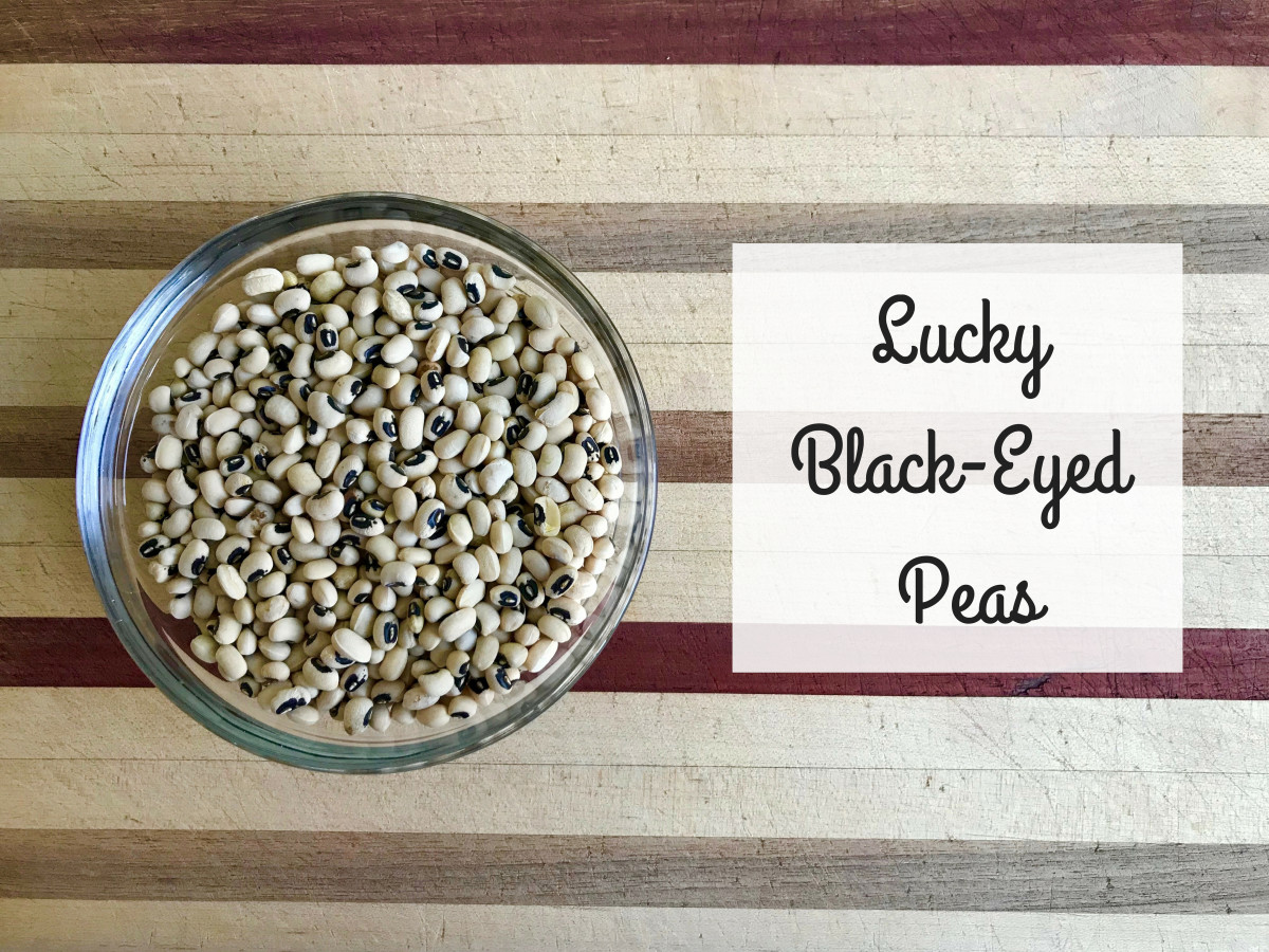 Eating black-eyed peas on New Year's is believed to bring good luck in the coming year.