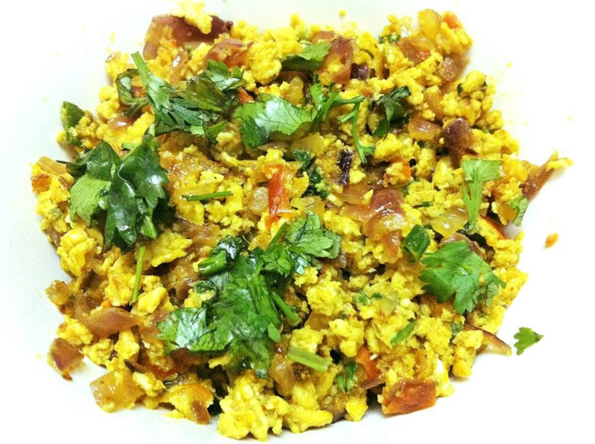 Fragrant, delicious, and healthy ande ki bhurji.