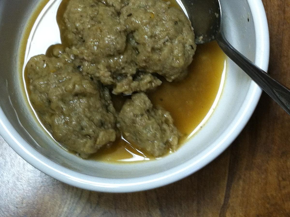 Liver Nips (Liver Dumplings)