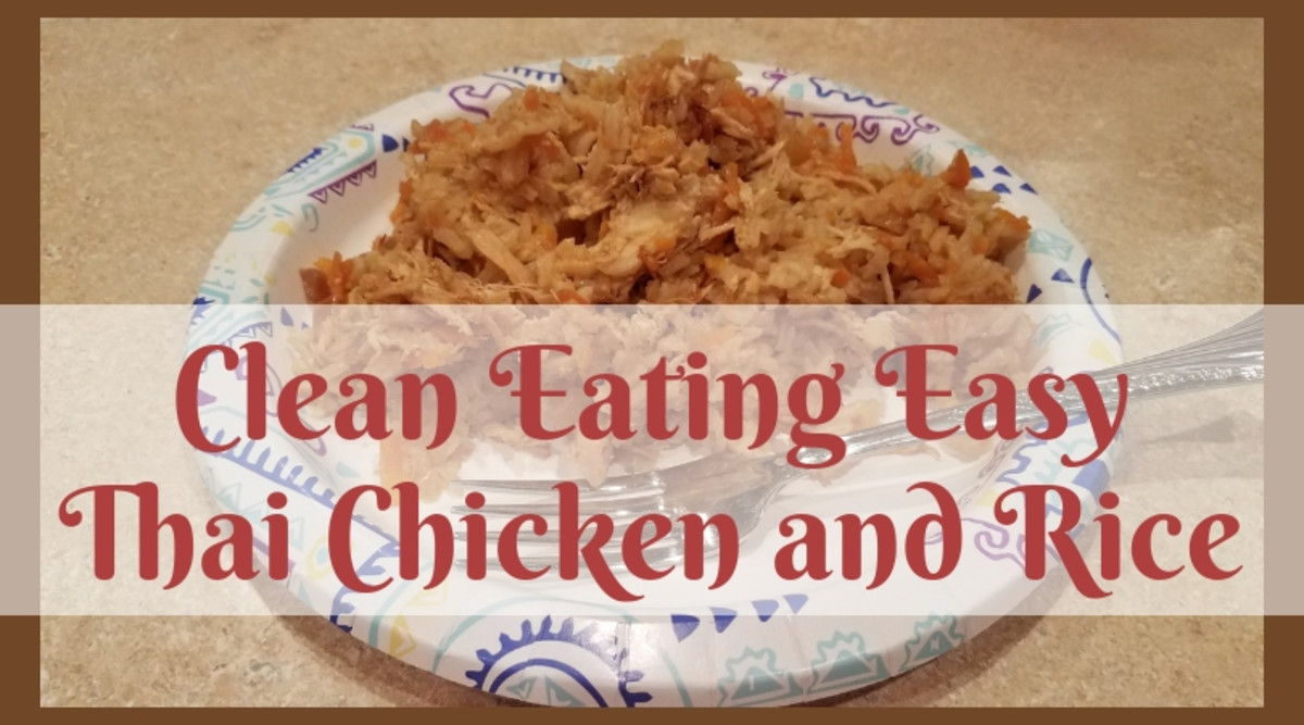 Easy Clean Eating Thai Chicken and Rice