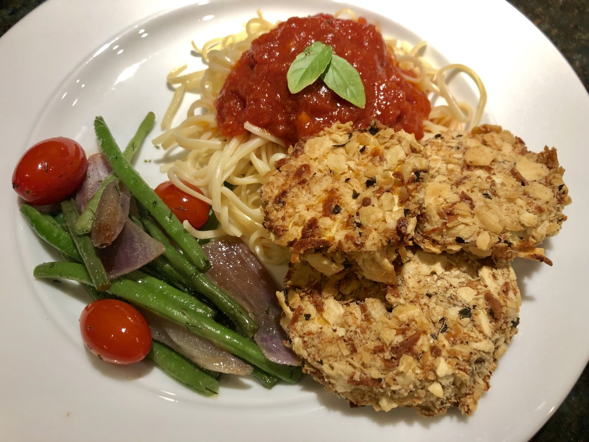 Baked Eggplant and Spaghetti Recipe
