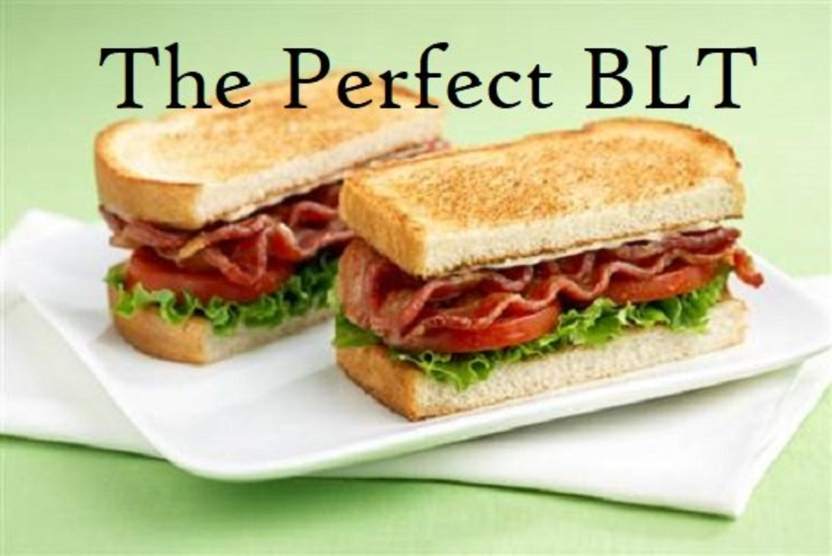 The Perfect BLT (Bacon-Lettuce-Tomato) Sandwich
