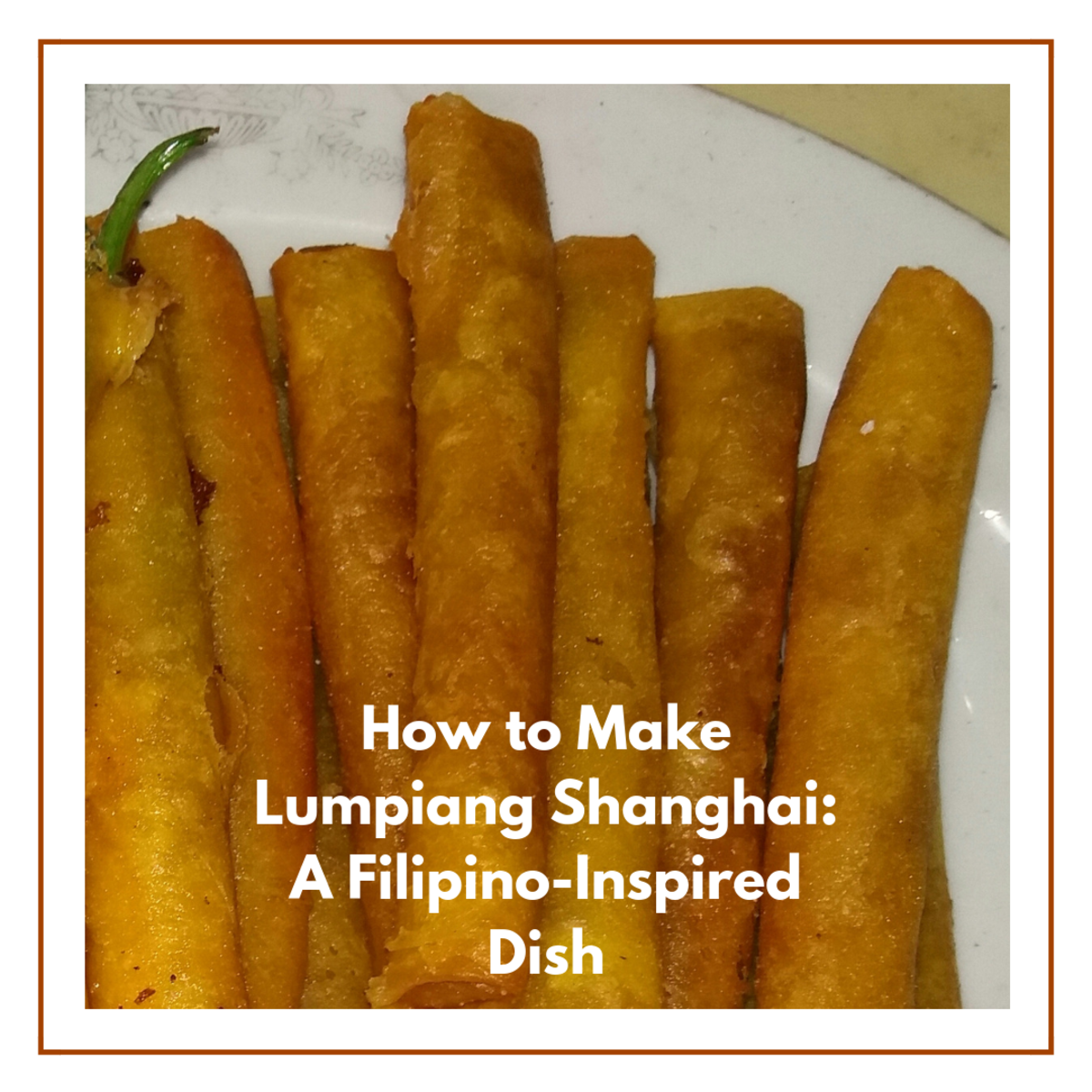 Learn how to make lumpiang Shanghai, a Filipino-inspired dish.