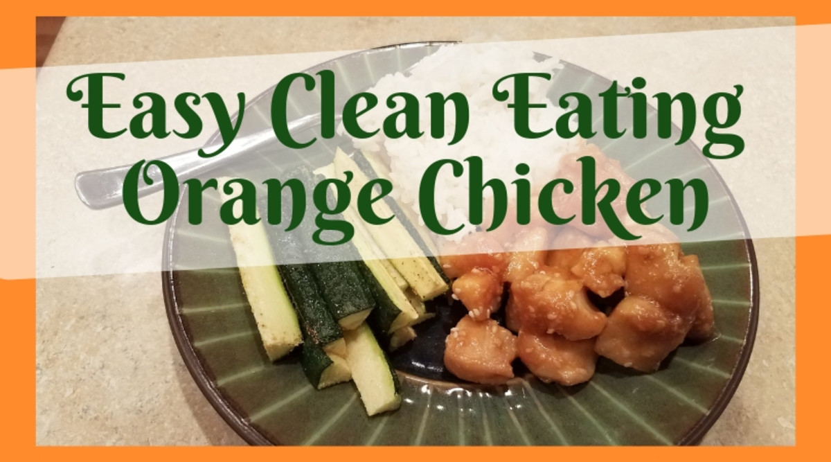 Easy Clean Eating Orange Chicken