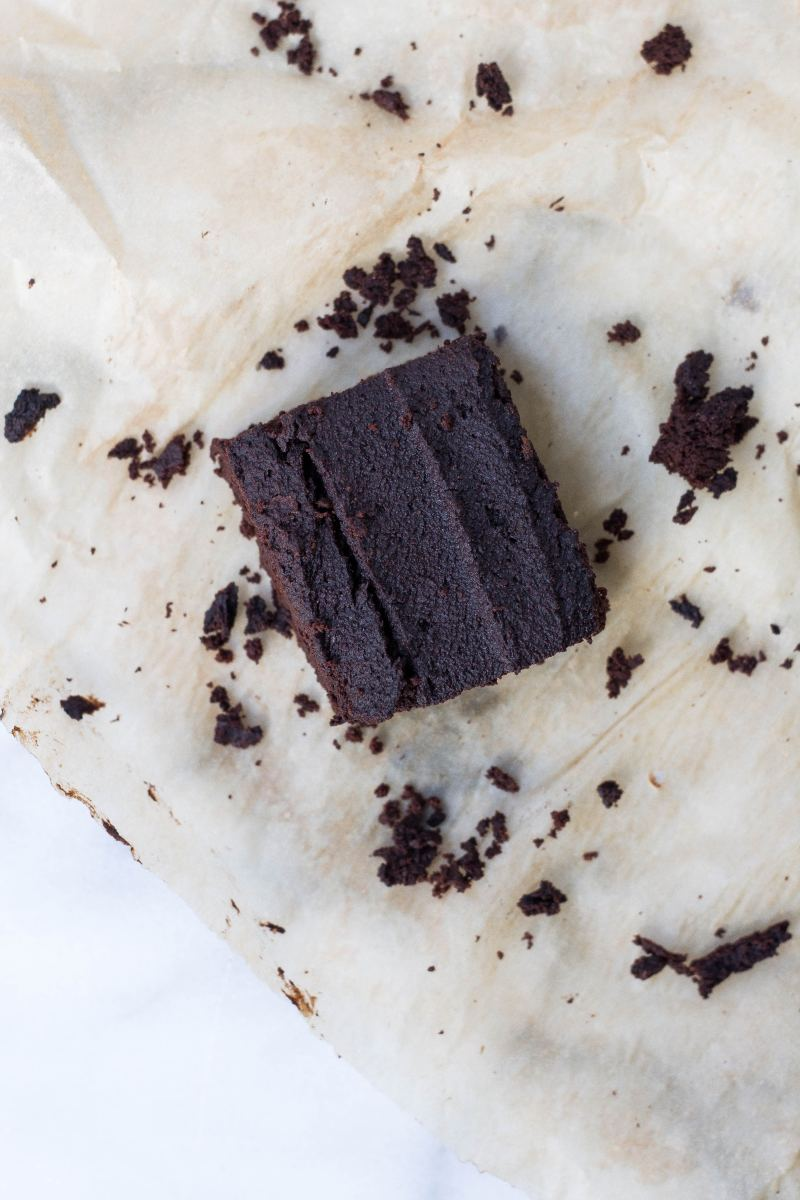 A wheat-free, sugar-free, egg-free brownie suitable for people with diabetes.