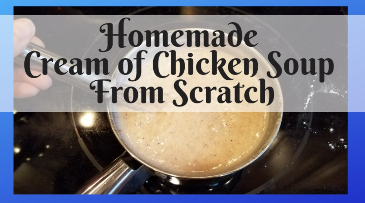 Homemade Cream of Chicken Soup From Scratch