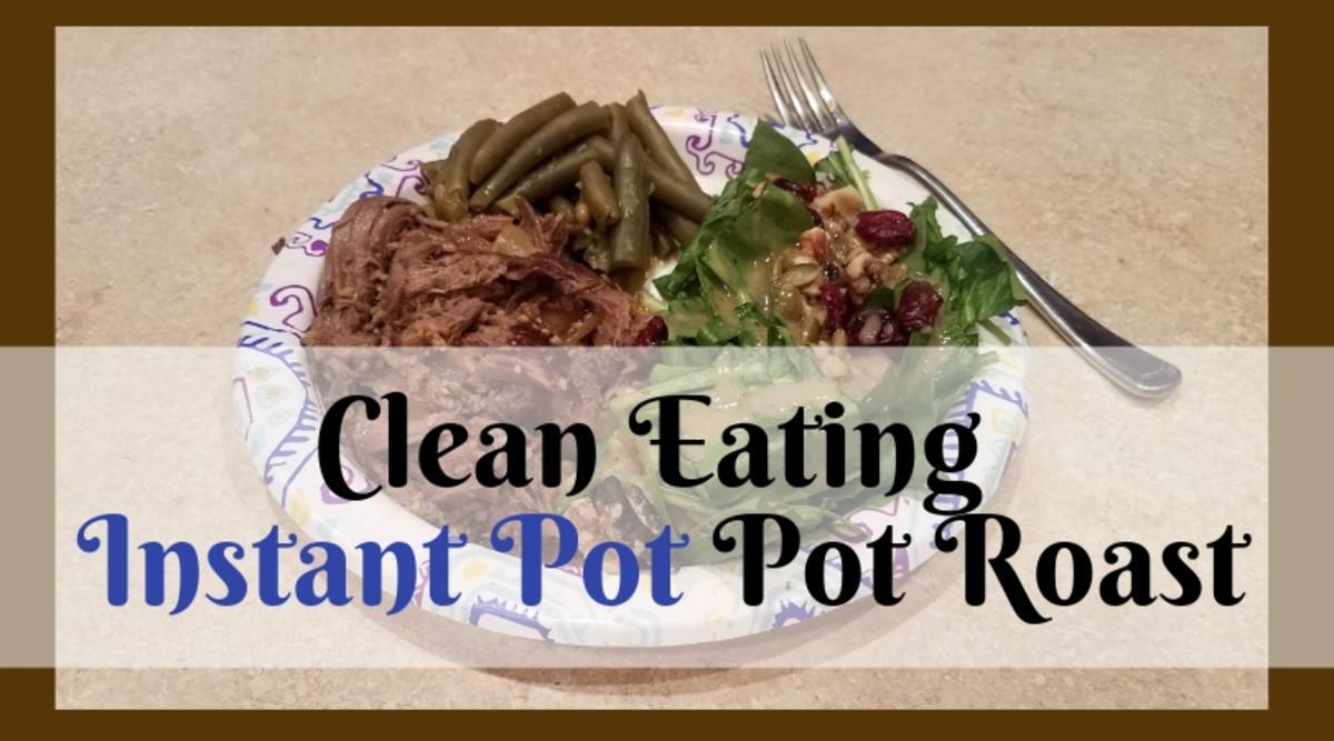 clean eating Instant Pot pot roast