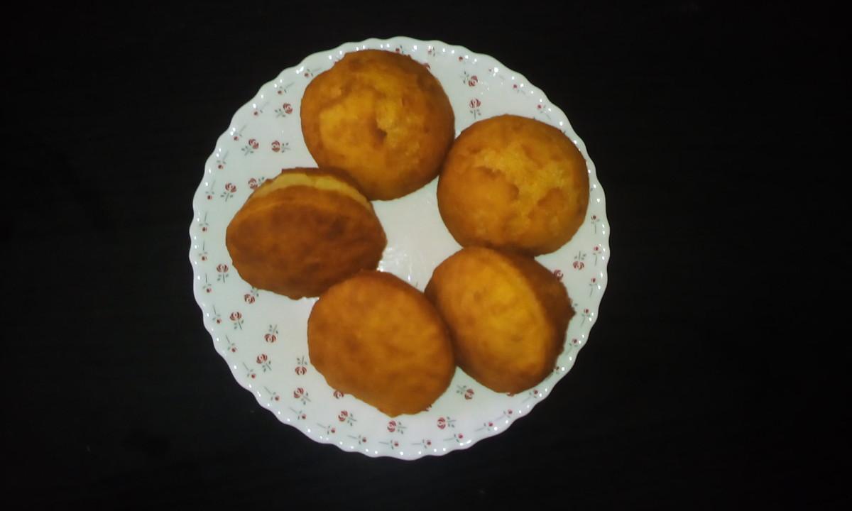 Mandazi/mahamri is a popular East African snack.