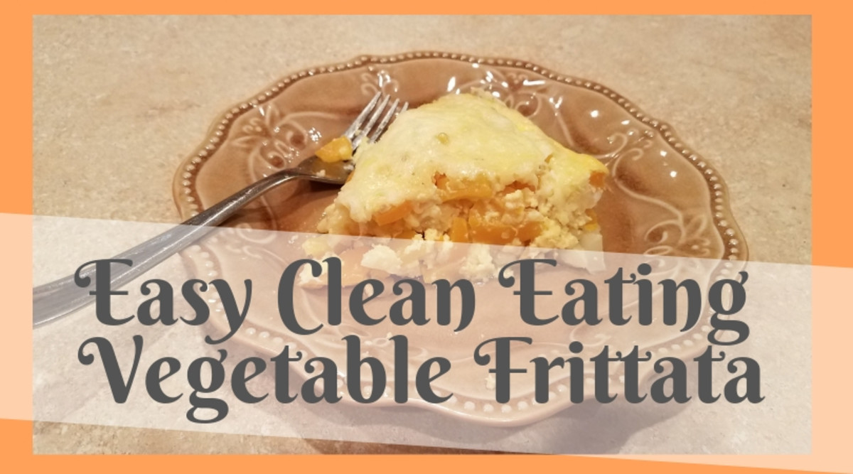 Easy Clean Eating Vegetable Frittata