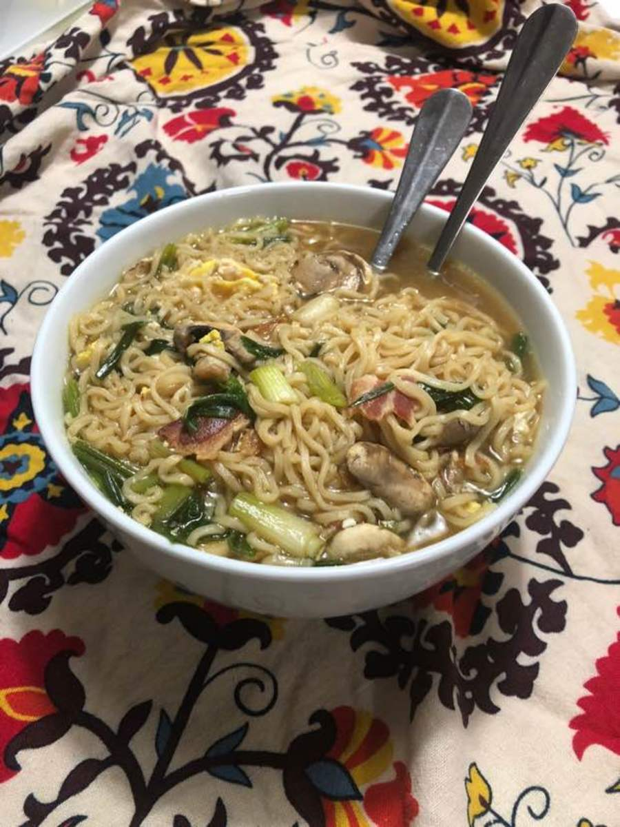 How to Eat Well While Broke: My Mom's Ramen Recipe