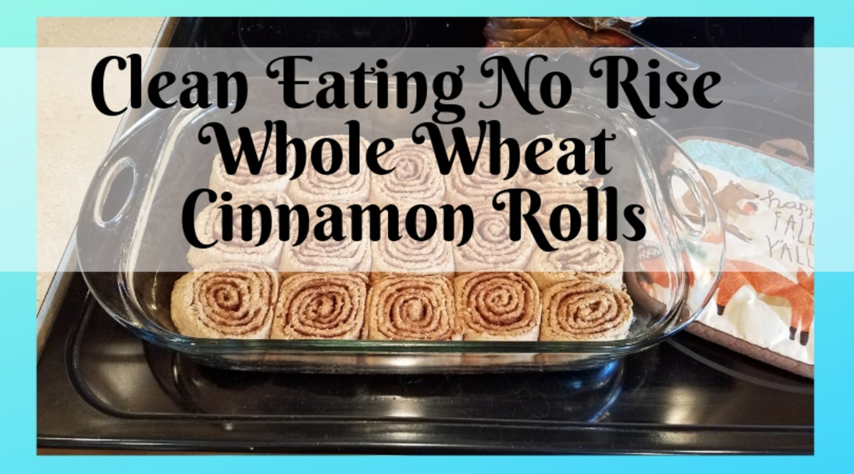 Clean Eating No-Rise Whole Wheat Cinnamon Rolls