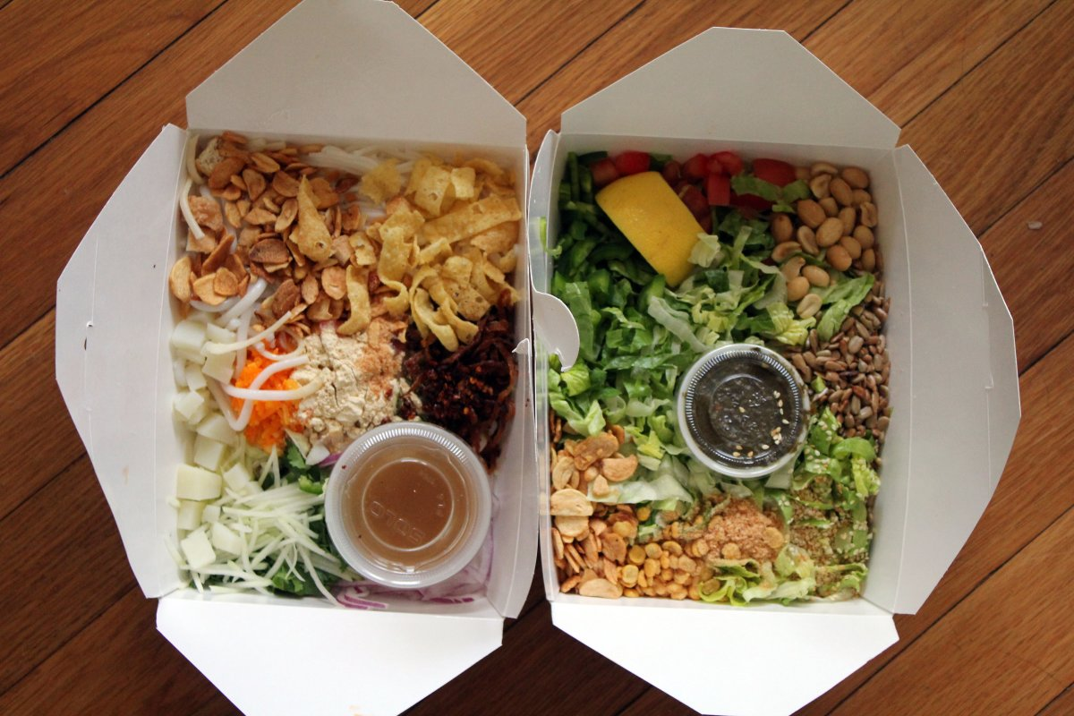 Get food delivered from local restaurants through DoorDash