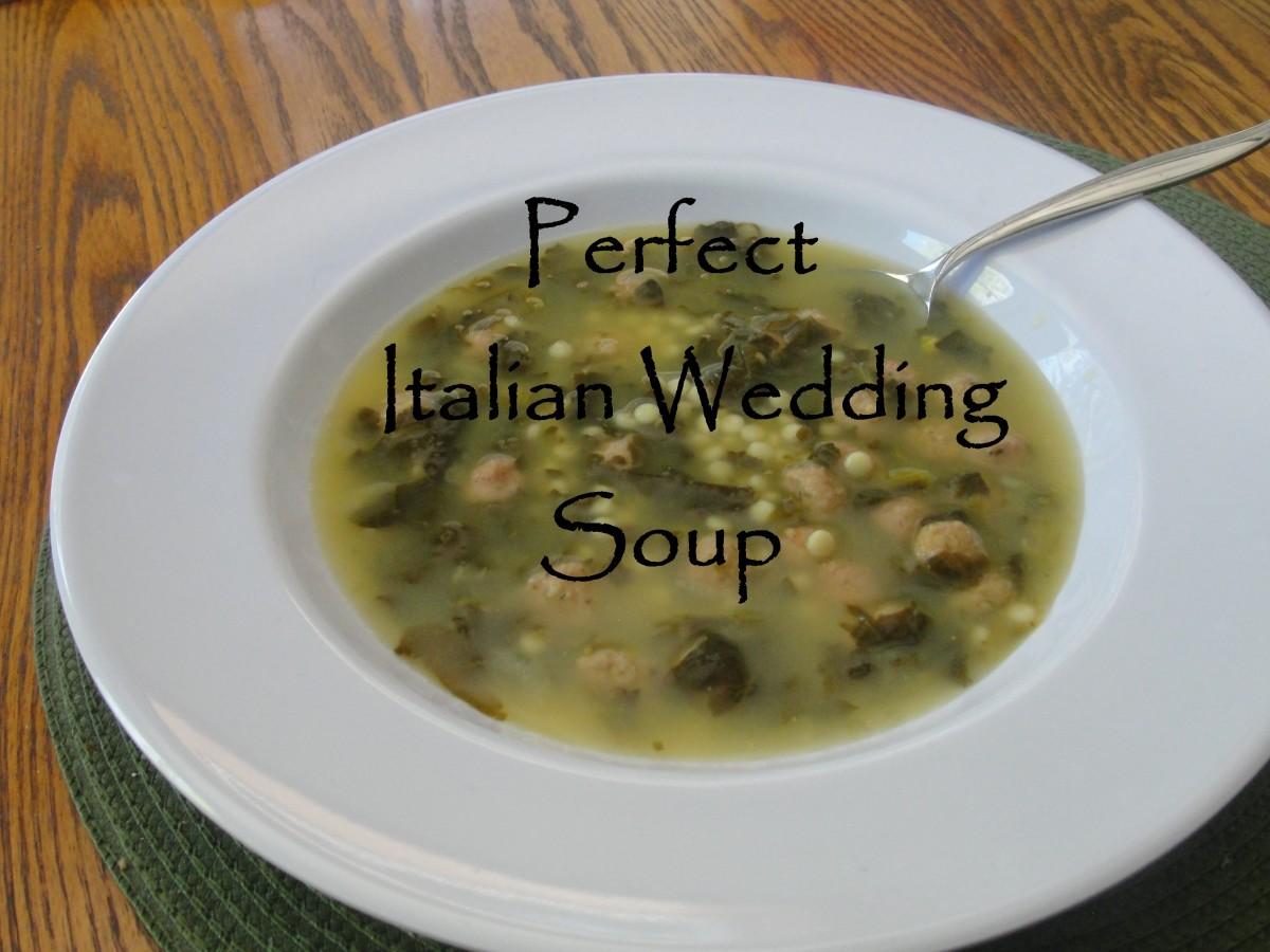 Perfect Italian Wedding Soup