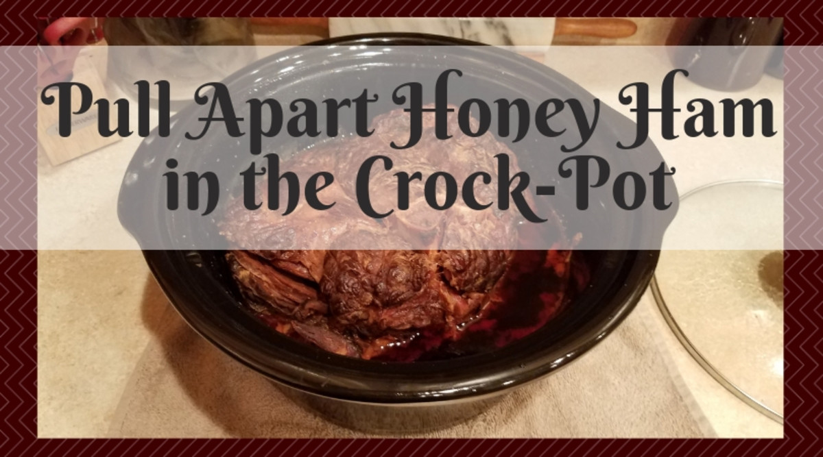 Pull-Apart Honey Ham in the Crock-Pot