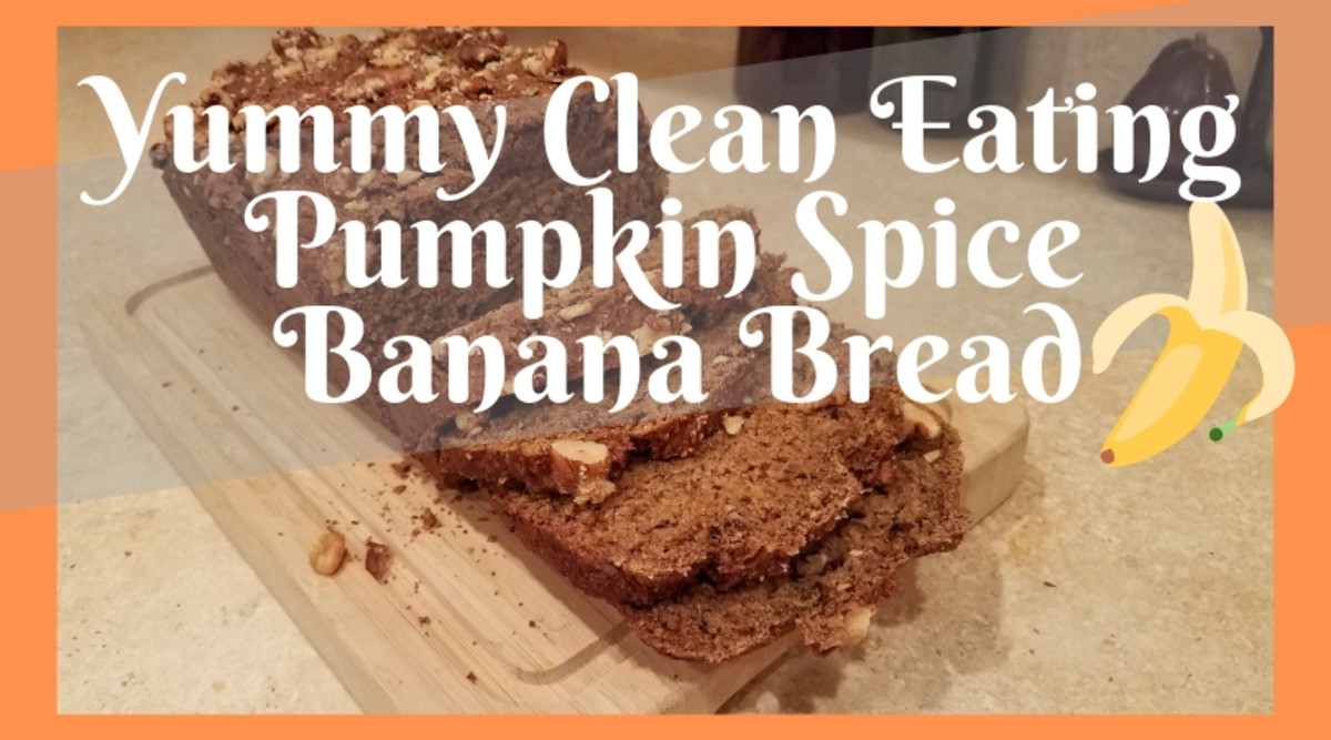 Yummy Clean Eating Pumpkin Spice Banana Bread