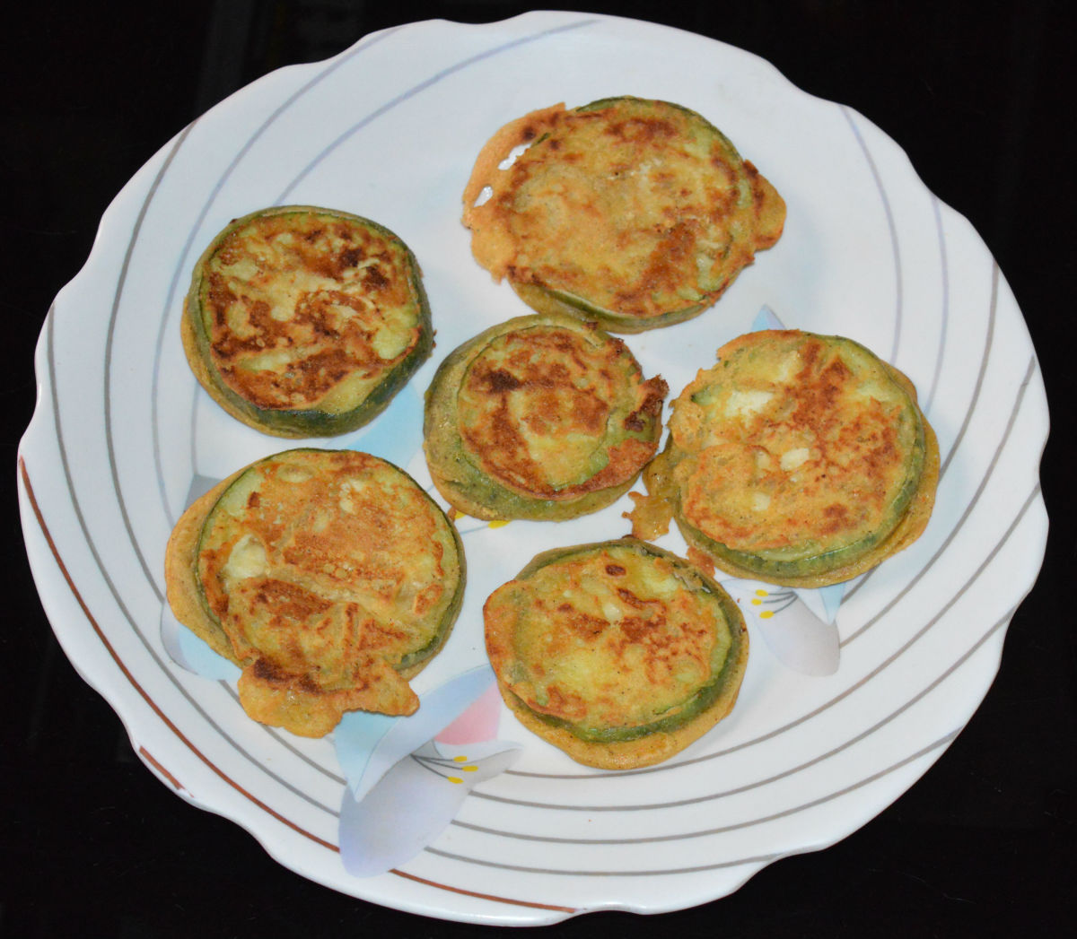 How to Make Savory Eggplant Fritters