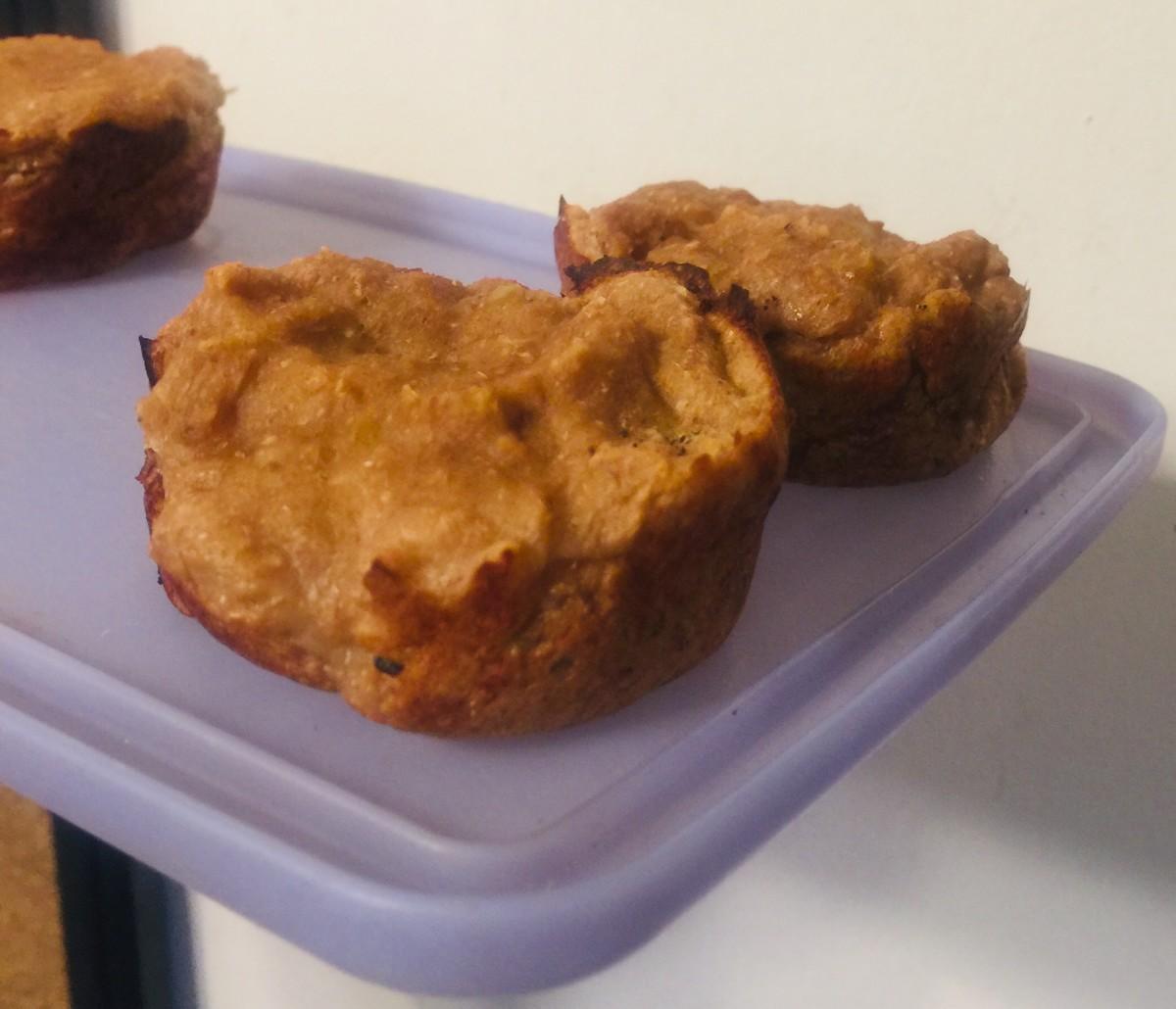 How to Make Vegan Apple Banana Muffins