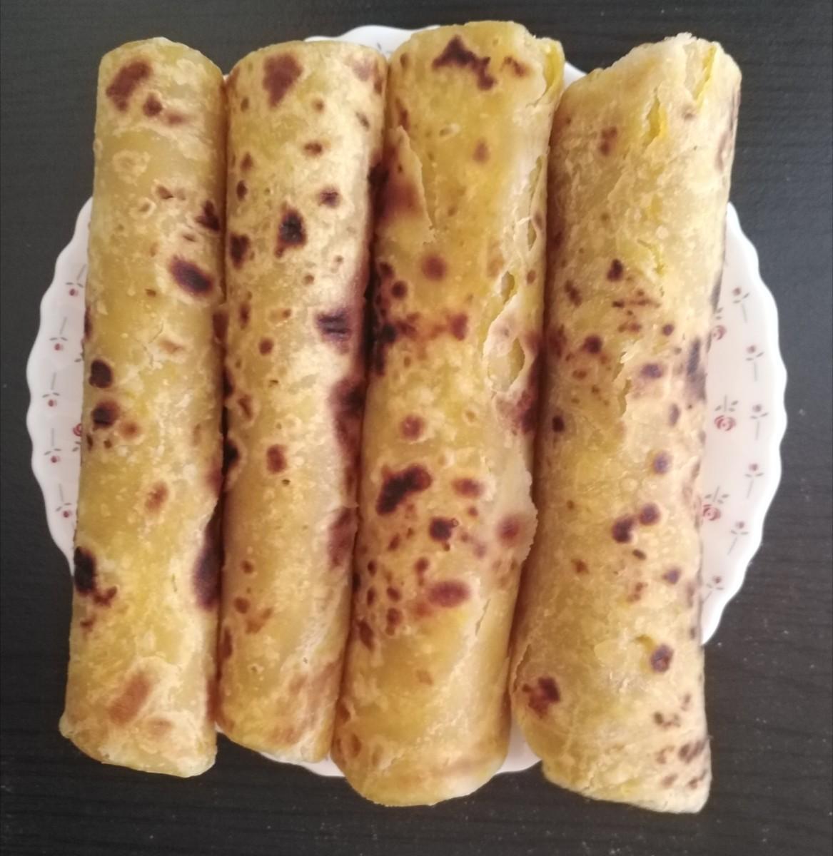 How to Make Pumpkin or Butternut Squash Chapati