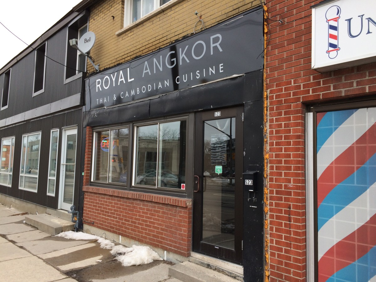 Review of Royal Angkor in Kingston, Ontario