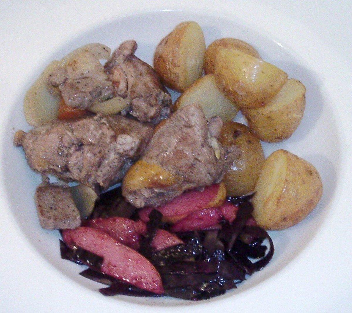 Slow-Cooker Pheasant and Lamb Stew Recipe
