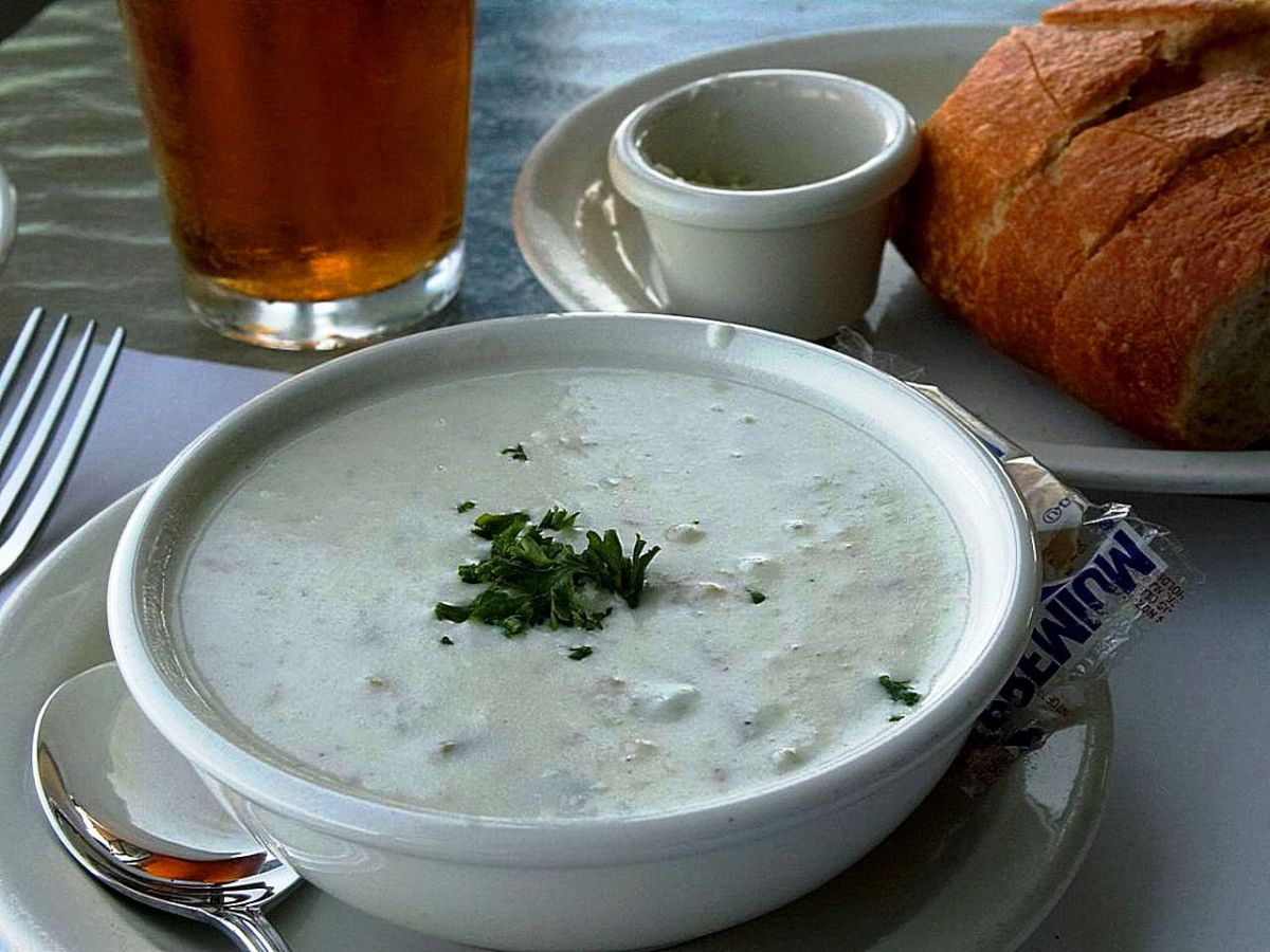 Perfect New England Clam Chowder