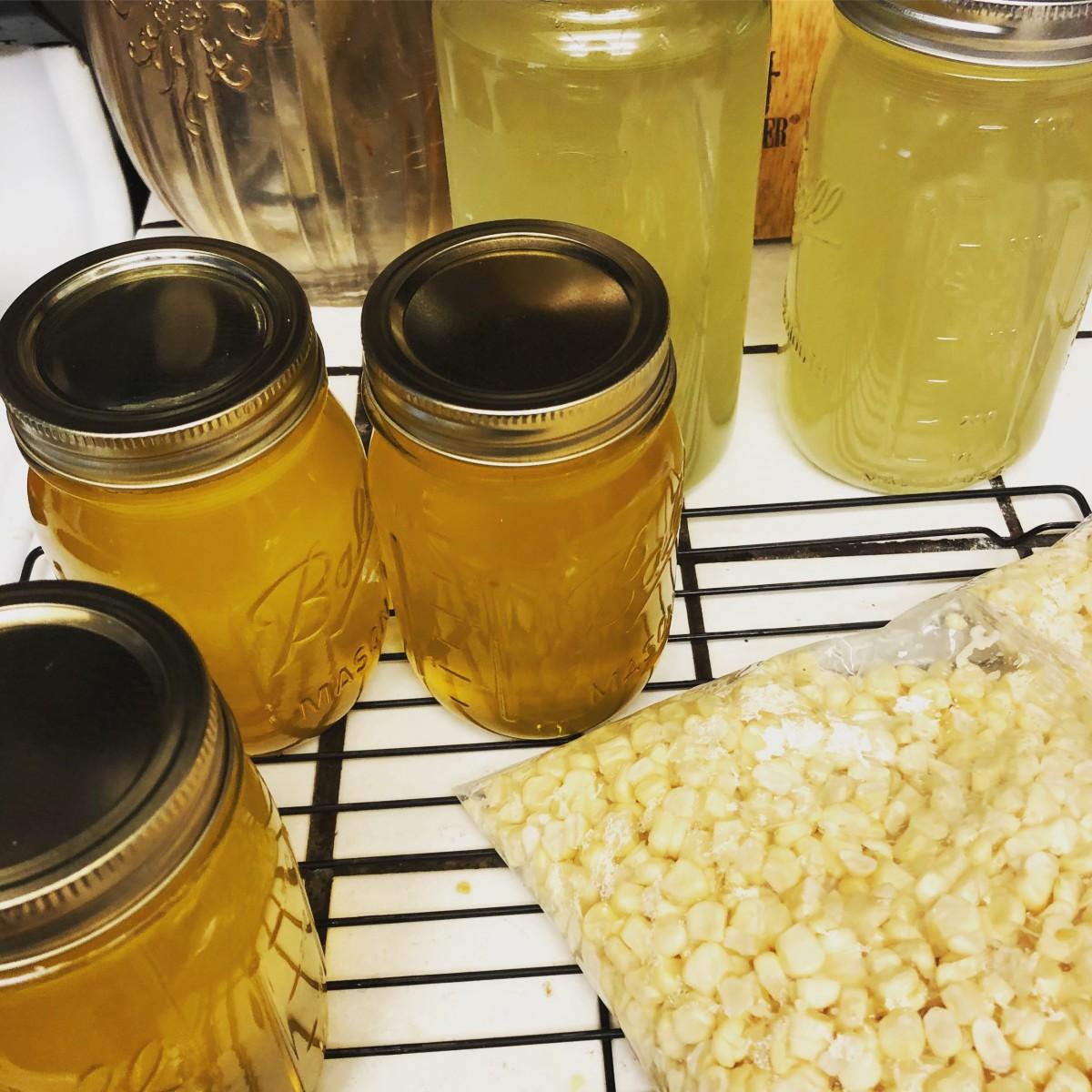 Corn cob jelly tastes like summer in a jar